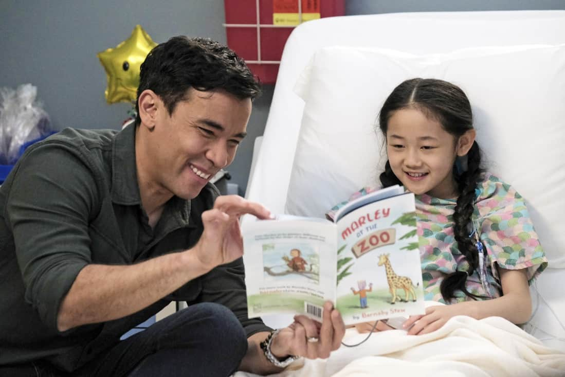 """THE RESIDENT Season 4 Episode 14 : L-R: Guest stars Conrad Ricamora and Chedi Chang in the season finale """"Past Present Future"""" episode of THE RESIDENT airing Tuesday, May 18 (8:00-9:01 PM ET/PT) on FOX. ©2021 Fox Media LLC Cr: Guy D'Alema/FOX"""