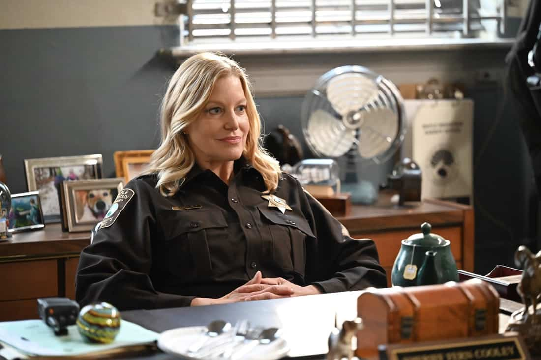 PRODIGAL SON Season 2 Episode 13 : Guest star Anna Gunn in the series finale The Last Weekend episode of PRODIGAL SON airing Tuesday, May 18 (9:01-10:00 PM ET/PT) on FOX. ©2021 Fox Media LLC Cr: Phil Caruso/FOX