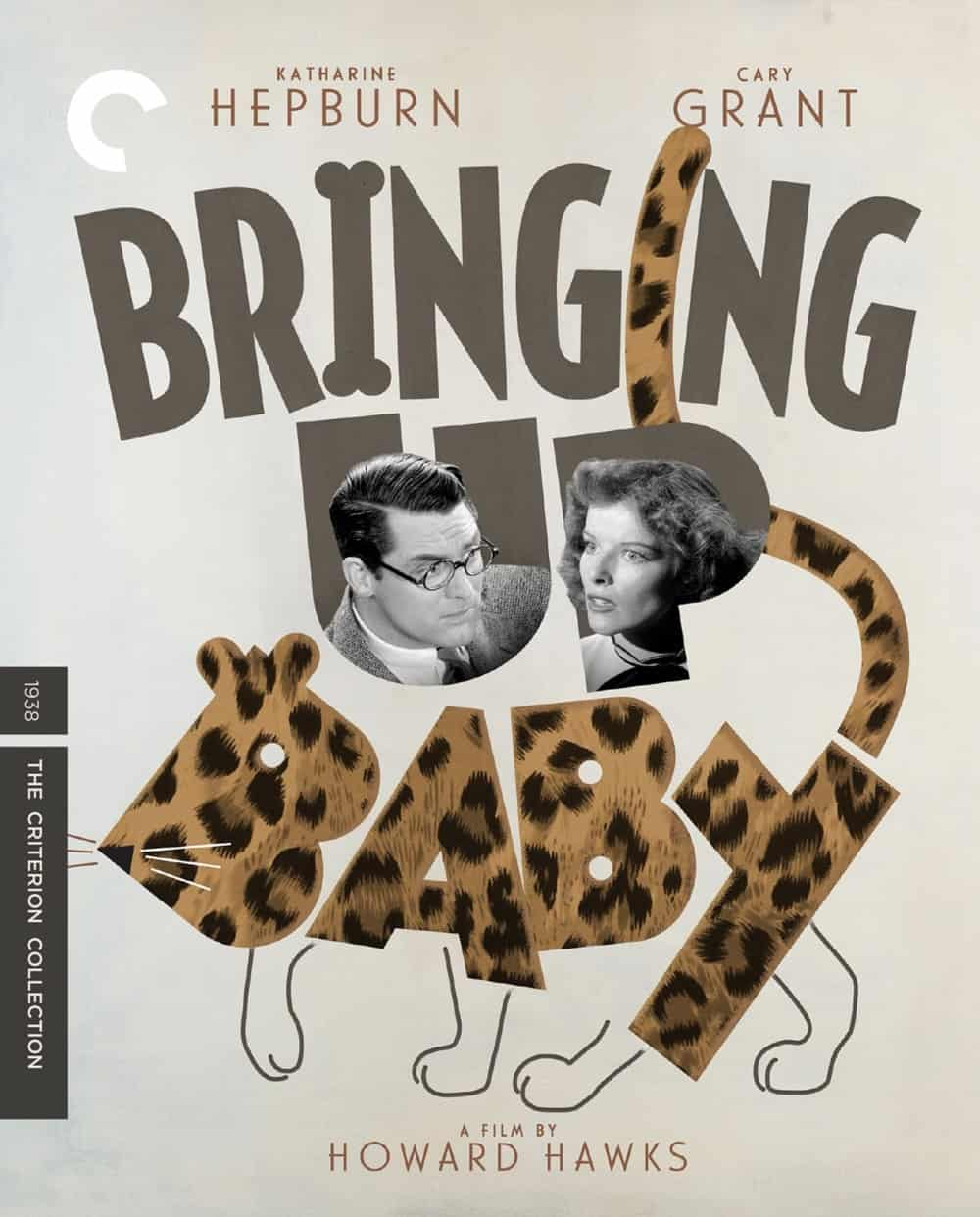 Bringing Up Baby Criterion Bluray Cover