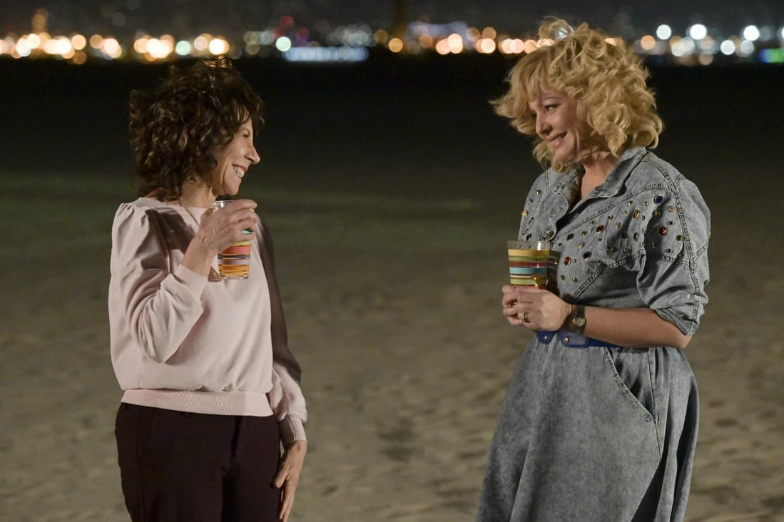 """THE GOLDBERGS Season 8 Episode 22 - """"The Proposal"""" – Geoff shares with the JTP that he is planning on asking Erica to marry him and gives them the engagement ring for safekeeping. Like any good romantic comedy, several miscommunications and misunderstandings between Geoff and Erica's friends and family result in a potential derailing of the proposal, forcing Adam to step in to keep the couple's special moment alive on the season finale of """"The Goldbergs,"""" WEDNESDAY, MAY 19 (8:00-8:30 p.m. EDT), on ABC. (ABC/Temma Hankin) MINDY STERLING, WENDI MCLENDON-COVEY"""