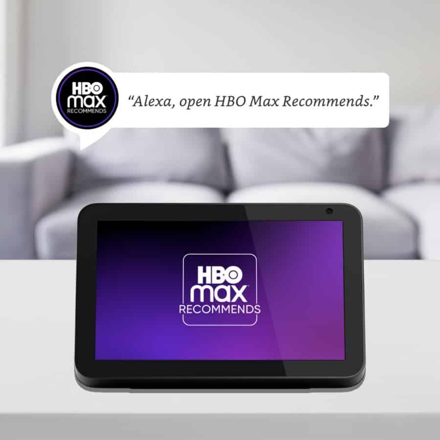 HBO Max Alexa Skill