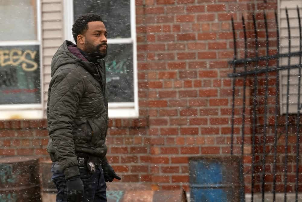 """CHICAGO PD Season 8 Episode 15-- """"The Right Thing"""" Episode 815 -- Pictured: LaRoyce Hawkins as Kevin Atwater -- (Photo by: Lori Allen/NBC)"""