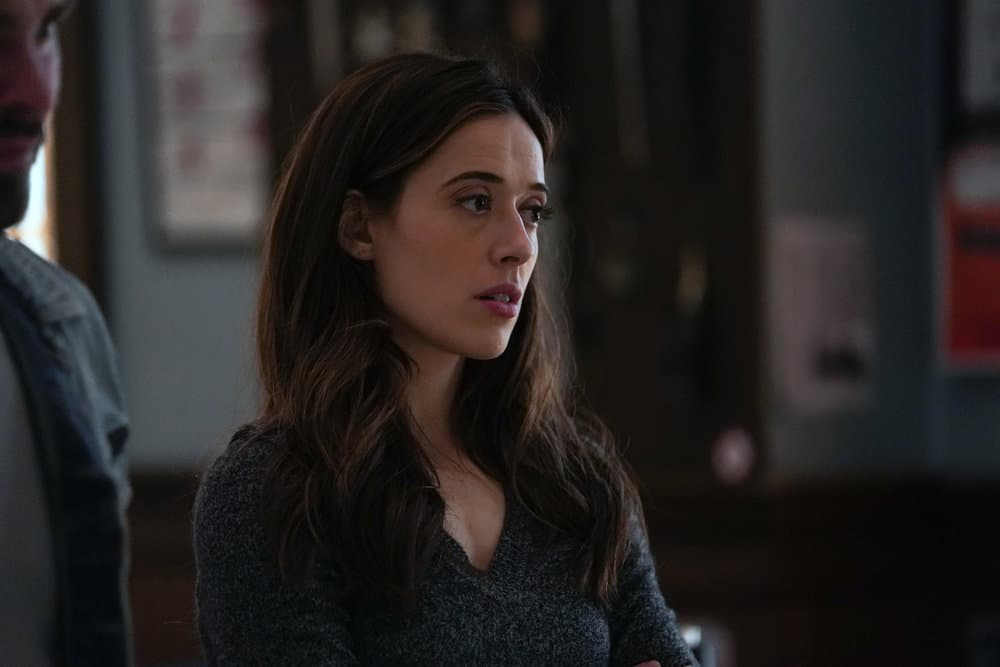 """CHICAGO PD Season 8 Episode 15  -- """"The Right Thing"""" Episode 815 -- Pictured: Marina Squerciati as Kim Burgess -- (Photo by: Lori Allen/NBC)"""