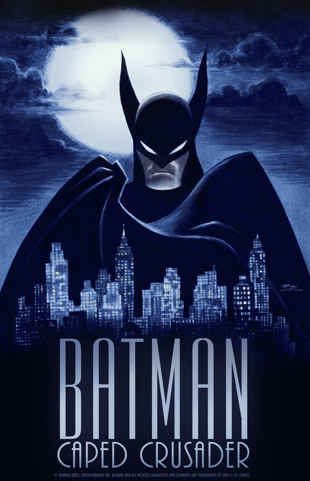 Batman_ Caped Crusader_Key Art