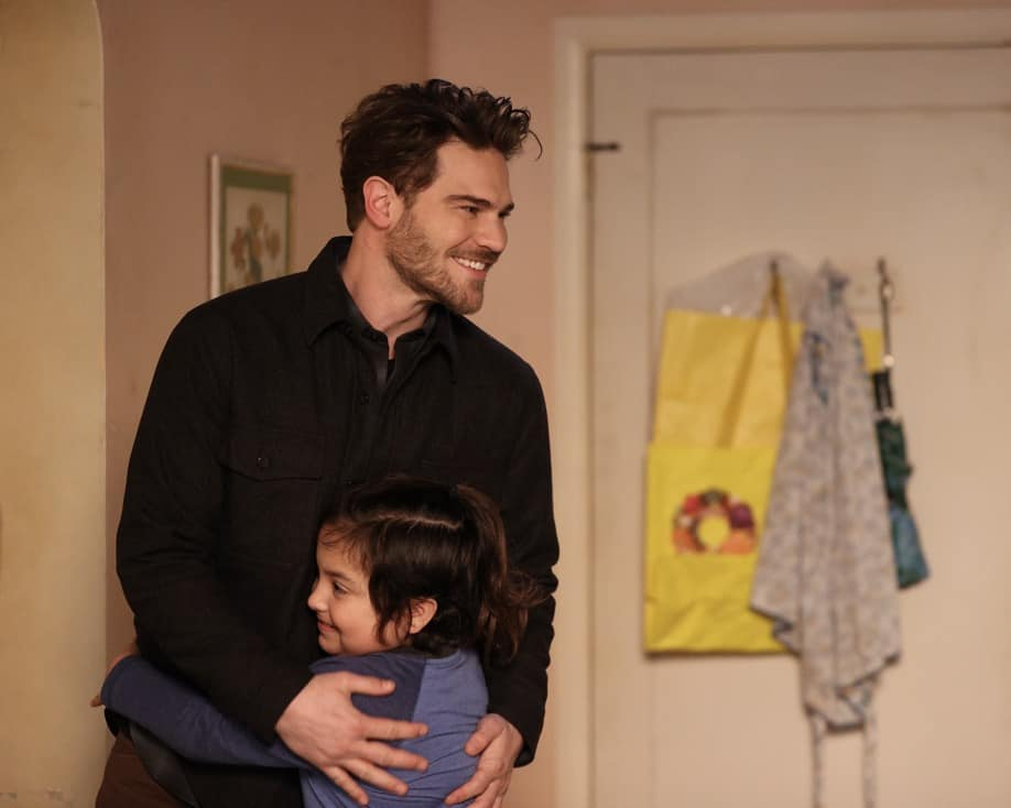 """STATION 19 Season 4 Episode 14 -""""Comfortably Numb"""" – Ben finally faces the health issues he has been putting off. Meanwhile, Jack and Inara help their neighbor out of a trashy situation, and Carina and Maya reevaluate their relationship on a new episode of """"Station 19,"""" THURSDAY, MAY 20 (8:00-9:00 p.m. EDT), on ABC. (ABC/Raymond Liu) GREY DAMON, ANSEL SLUYTER-OBIDOS"""