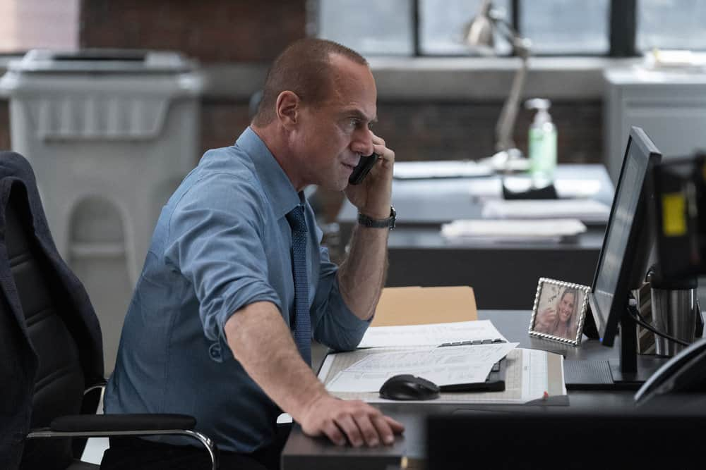 """LAW AND ORDER ORGANIZED CRIME Season 1 Episode 6 -- """"I Got This Rat"""" Episode 106 -- Pictured: Christopher Meloni as Detective Elliot Stabler -- (Photo by: Heidi Gutman/NBC)"""