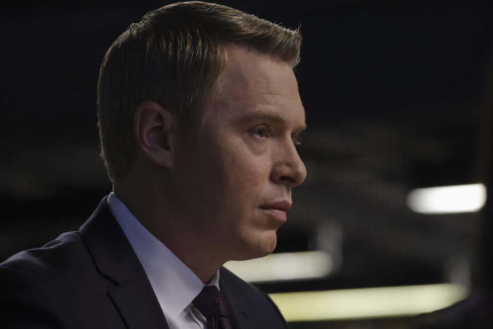 "THE BLACKLIST Season 8 Episode 18 -- ""The Protean (#36)"" Episode 818 -- Pictured: Diego Klattenhoff as Donald Ressler -- (Photo by: Will Hart/NBC)"