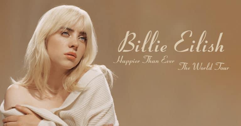 BILLIE EILISH Happier Than Ever World Tour