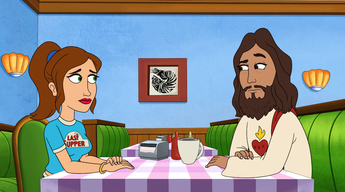 BLESS THE HARTS Season 2 Episode 22 : When Jenny ignores JesusÕ advice on a moral conundrum, her new take on the truth causes huge problems in LouiseÕs life. Meanwhile, both Betty and Wayne turn to Travis for spiritual healing after refusing to go to a doctor for help with medical problems in the ÒToni with an iÓ episode of BLESS THE HARTS airing Sunday, May 23 (7:30-8:00 PM ET/PT) on FOX. BLESS THE HARTS © 2021 by 20th Television and Fox Media LLC.