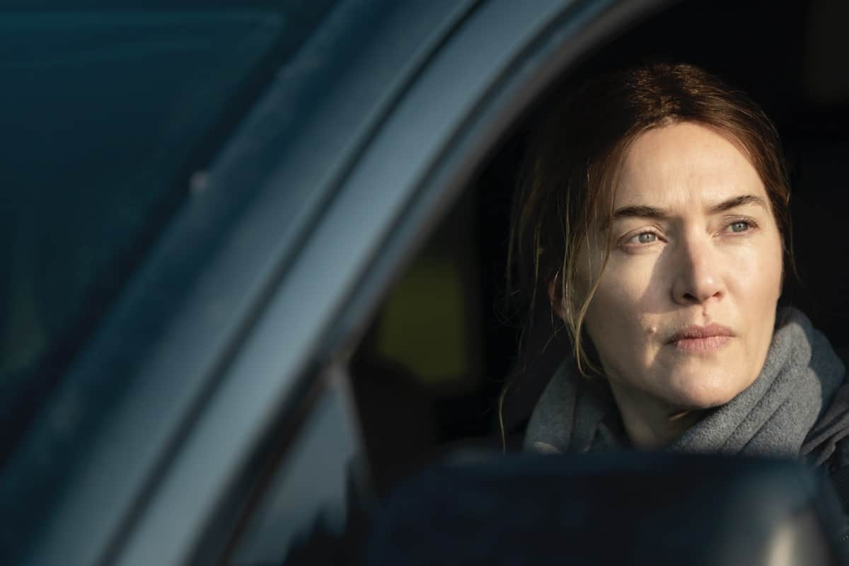 Kate Winslet MARE OF EASTTOWN Season 1 Episode 6 Photograph by Michele K. Short/HBO