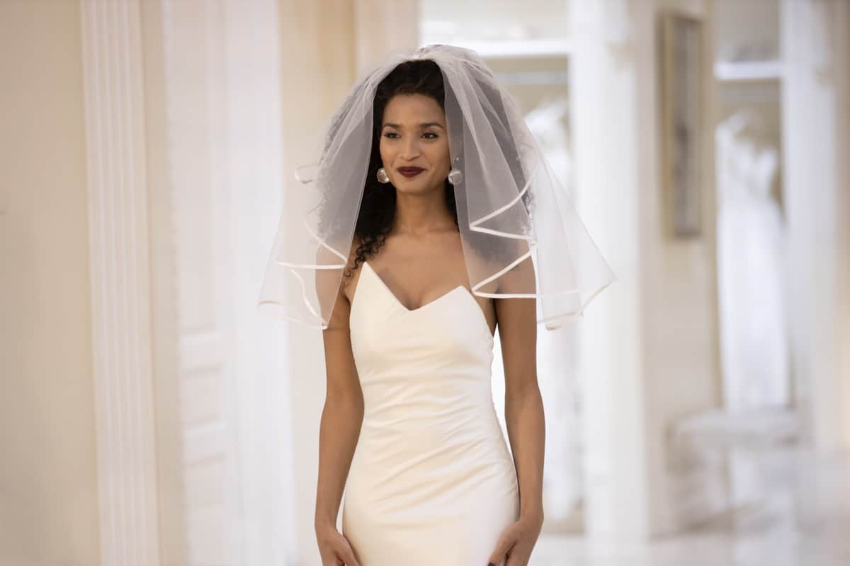 """POSE Season 3 Episode 5 -- """"Something Borrowed, Something Blue"""" -- Season 3, Episode 5 (Airs May 23) Pictured: Indya Moore as Angel. CR: Eric Liebowitz/FX"""