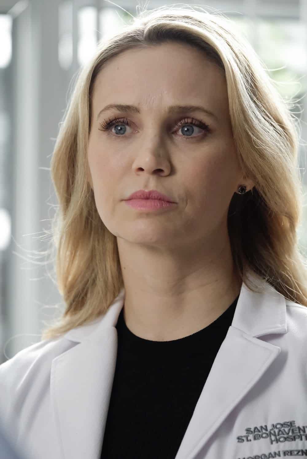 """THE GOOD DOCTOR Season 4 Episode 18 - """"Forgive or Forget"""" – Shaun and Lea go on a camping trip to distract themselves from their grief over their miscarriage. Meanwhile, Morgan and Park argue about the best course of treatment for their patient on an all-new episode of """"The Good Doctor,"""" MONDAY, MAY 24 (10:00-11:00 p.m. EDT), on ABC. (ABC/Jeff Weddell) FIONA GUBELMANN"""