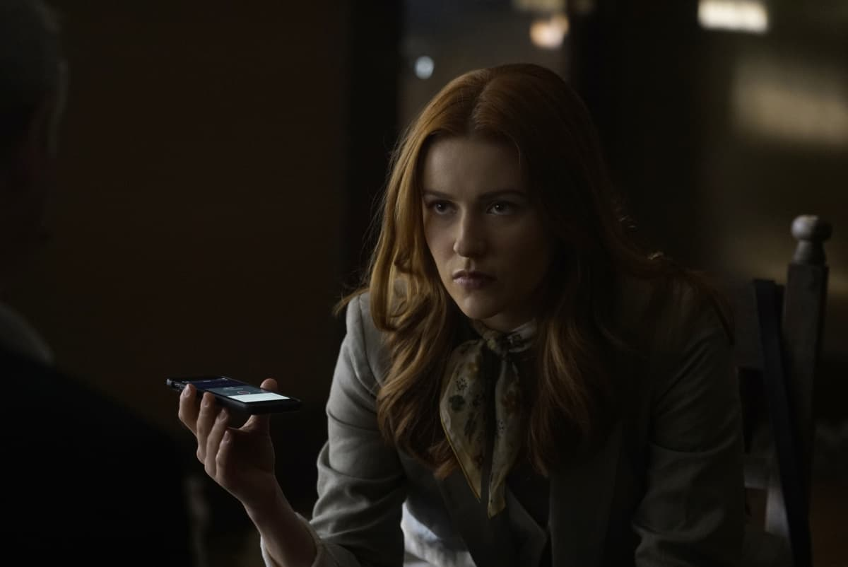 """NANCY DREW Season 2 Episode 17 -- """"The Judgement of the Perilous Captive"""" -- Image Number: NCD217a_0228r.jpg -- Pictured: Kennedy McMann as Nancy Drew -- Photo: Shane Harvey/The CW -- © 2021 The CW Network, LLC. All Rights Reserved."""