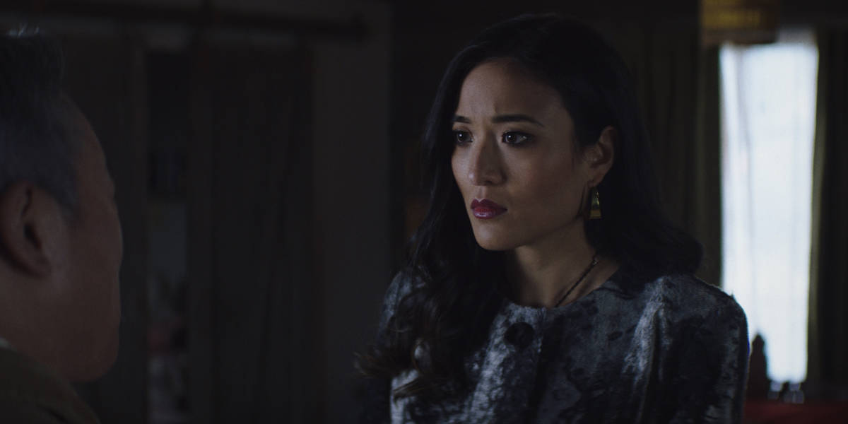 """KUNG FU Season 1 Episode 7 -- """"Guidance"""" -- Image Number: KF107a_0006r.jpg -- Pictured: Yvonne Chapman as Zhilan -- Photo: The CW -- © 2021 The CW Network, LLC. All Rights Reserved"""