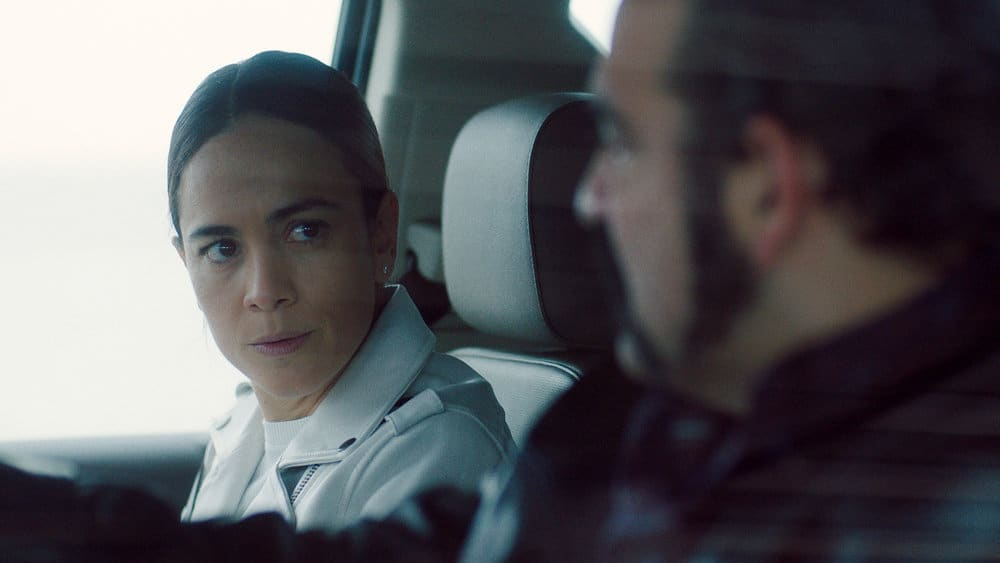 """QUEEN OF THE SOUTH Season 5 Episode 8 -- """"Everything I Touch"""" Episode 508 -- Pictured in this screengrab: Alice Braga as Teresa Mendoza -- (Photo by: USA Network)"""