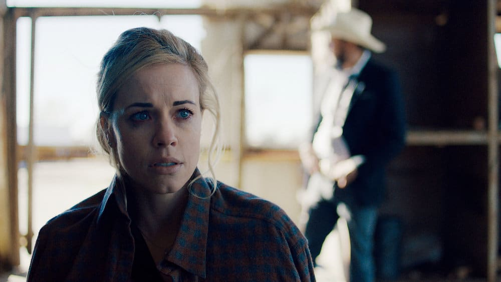 """QUEEN OF THE SOUTH Season 5 Episode 8 -- """"Everything I Touch"""" Episode 508 -- Pictured in this screengrab: Molly Burnett as Kelly Anne Van Awken -- (Photo by: USA Network)"""