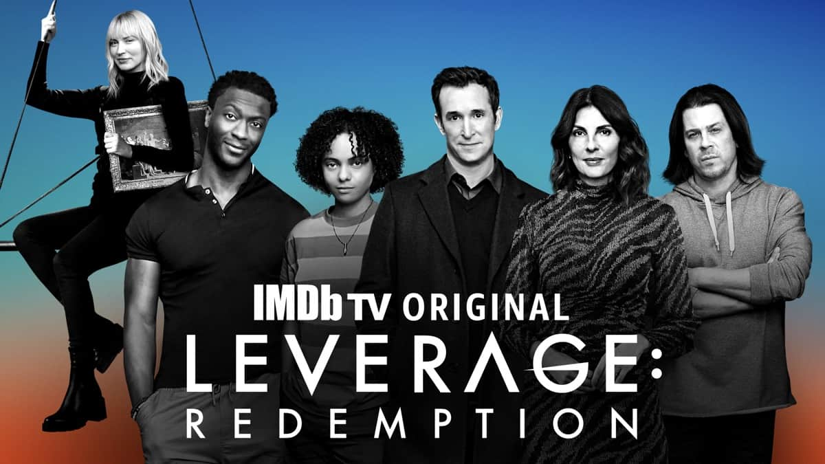 LEVERAGE: REDEMPTION Official Poster