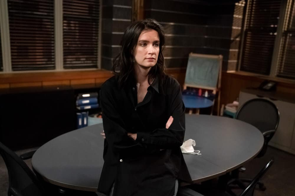 """LAW AND ORDER SVU Season 22 Episode 15 -- """"What Can Happen In The Dark"""" Episode 22015 -- Pictured: Anna Wood as Diana -- (Photo by: Heidi Gutman/NBC)"""