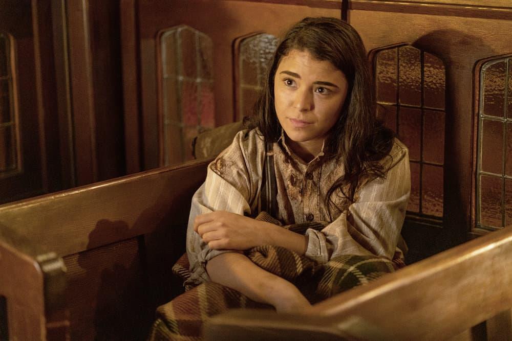 "VAN HELSING Season 5 Episode 7-- ""Graveyard Smash"" Episode 507 -- Pictured: Nicole Munoz as Jack -- (Photo by: Daniel Power/Nomadic Pictures Inc./SYFY)"