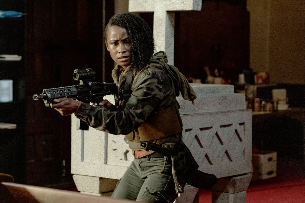 "VAN HELSING Season 5 Episode 7 -- ""Graveyard Smash"" Episode 507 -- Pictured: Keeya King as Violet -- (Photo by: Daniel Power/Nomadic Pictures Inc./SYFY)"
