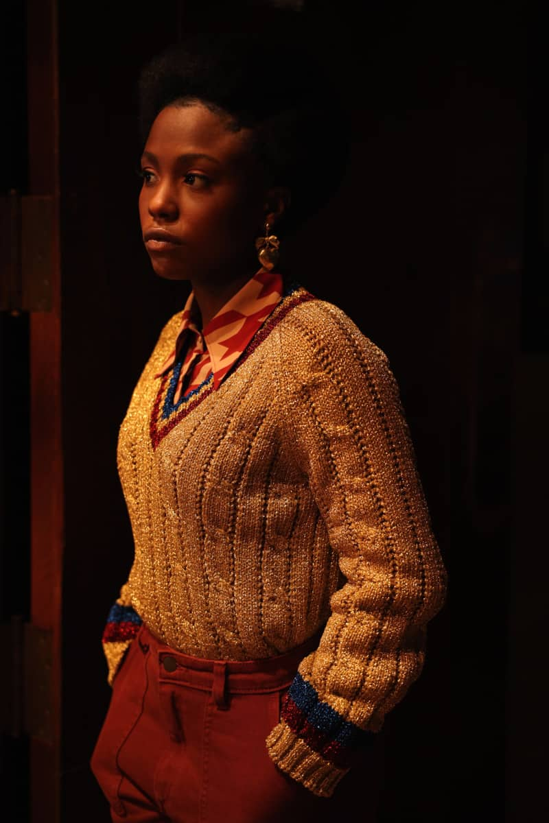 """THE CHI Season 4 Episode 2 Judae'a Brown as Jemma in THE CHI, """"Cooley High"""". Photo credit: Adrian BurrowsSHOWTIME."""