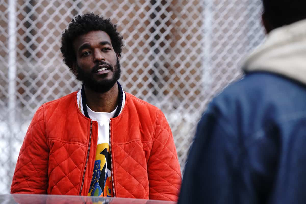 """THE CHI Season 4 Episode 2 (L): Luke James as Trig in THE CHI, """"Cooley High"""". Photo credit: Elizabeth Sisson/SHOWTIME."""