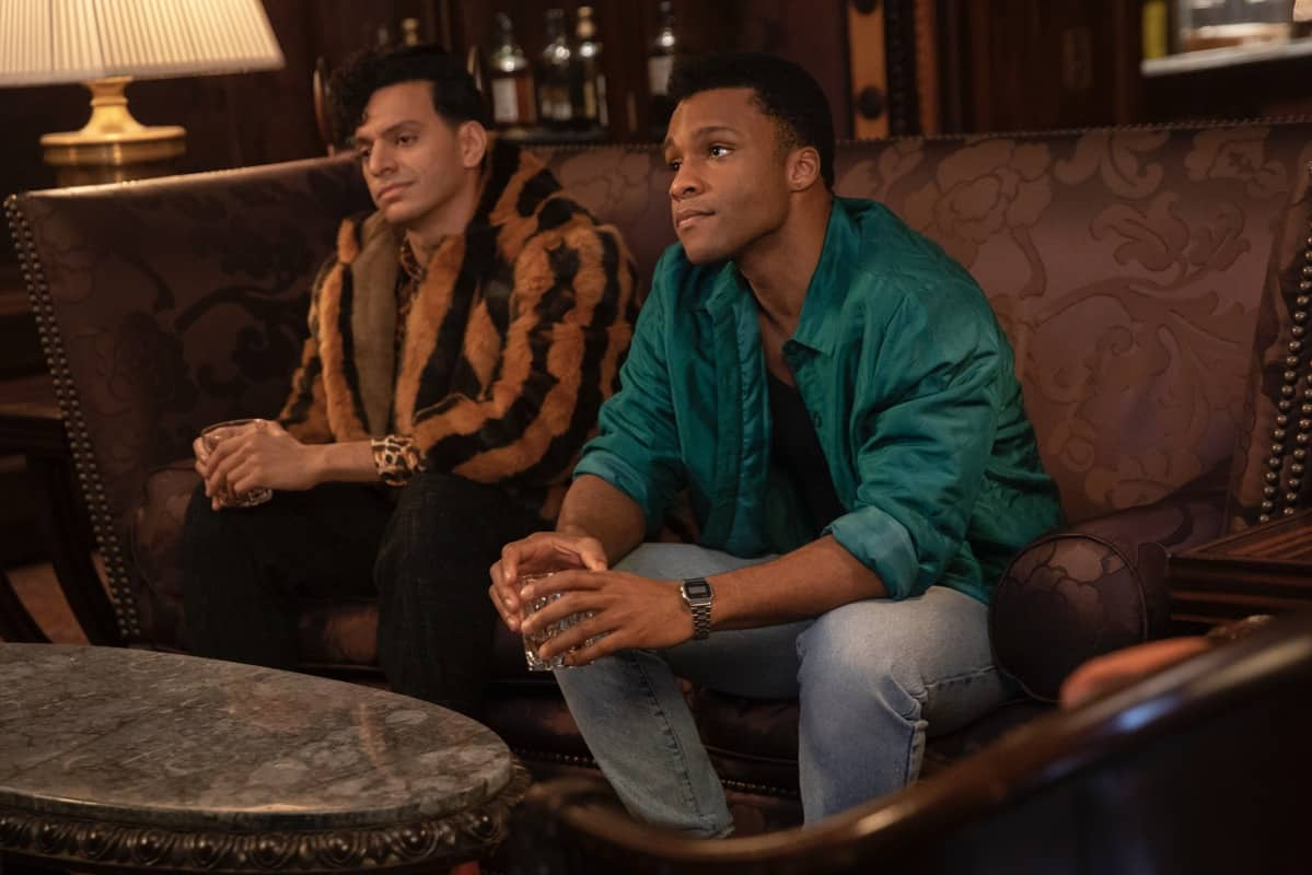 """POSE Season 3 Episode 6-- """"Something Old, Something New"""" -- Season 3, Episode 6 (Airs May 30) Pictured: Jason A. Rodriguez as Lemar, Dyllón Burnside as Ricky. CR: Eric Liebowitz/FX"""