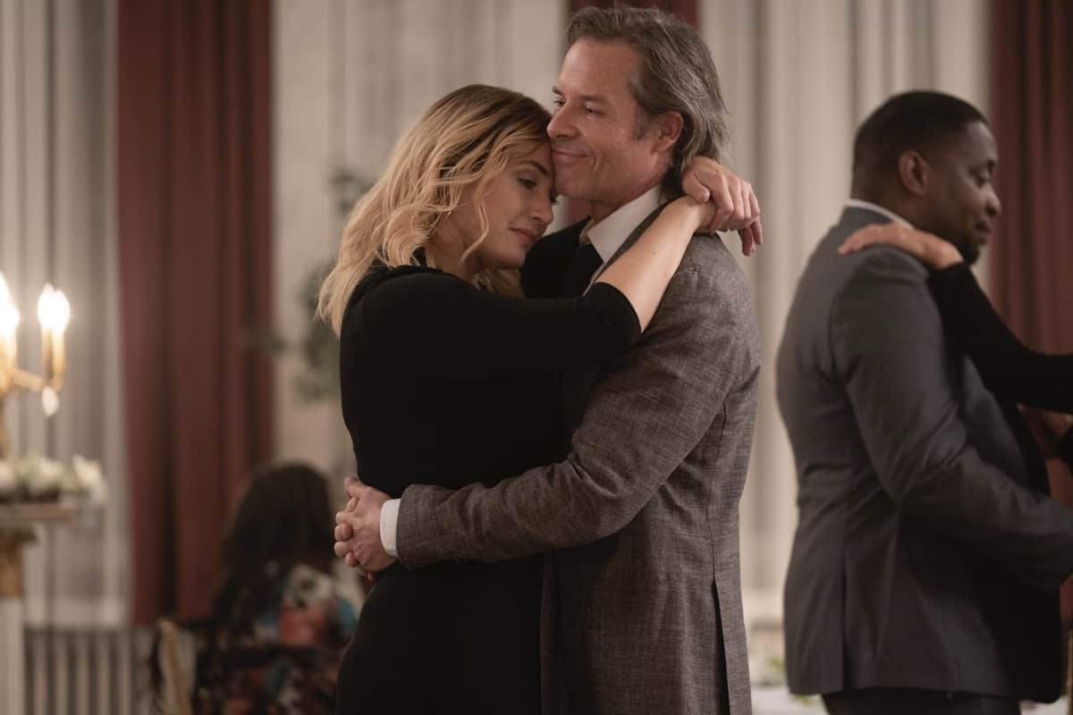 Kate Winslet, Guy Pearce MARE OF EASTTOWN Season 1 Episode 7 Photograph by Sarah Shatz/HBO