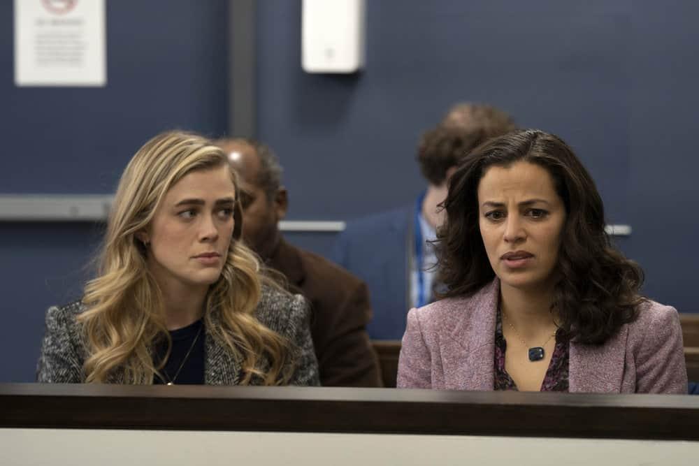 "MANIFEST Season 3 Episode 11-- ""Duty Free"" Episode 311 -- Pictured: (l-r) Melissa Roxburgh as Michaela Stone, Athena Karkanis as Grace Stone -- (Photo by: Peter Kramer/NBC)"