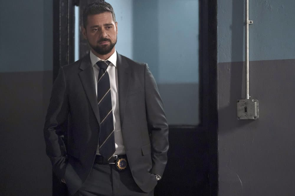 "MANIFEST Season 3 Episode 11 -- ""Duty Free"" Episode 311 -- Pictured: J.R. Ramirez as Jared Vazquez -- (Photo by: Peter Kramer/NBC)"
