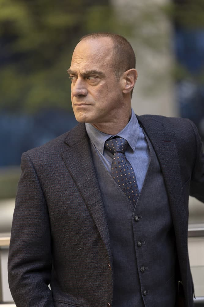 """LAW AND ORDER ORGANIZED CRIME Season 1 Episode 8 -- """"Forget It, Jake; It's Chinatown"""" Episode 108 -- Pictured: Christopher Meloni as Detective Elliot Stabler -- (Photo by: Eric Liebowitz/NBC)"""