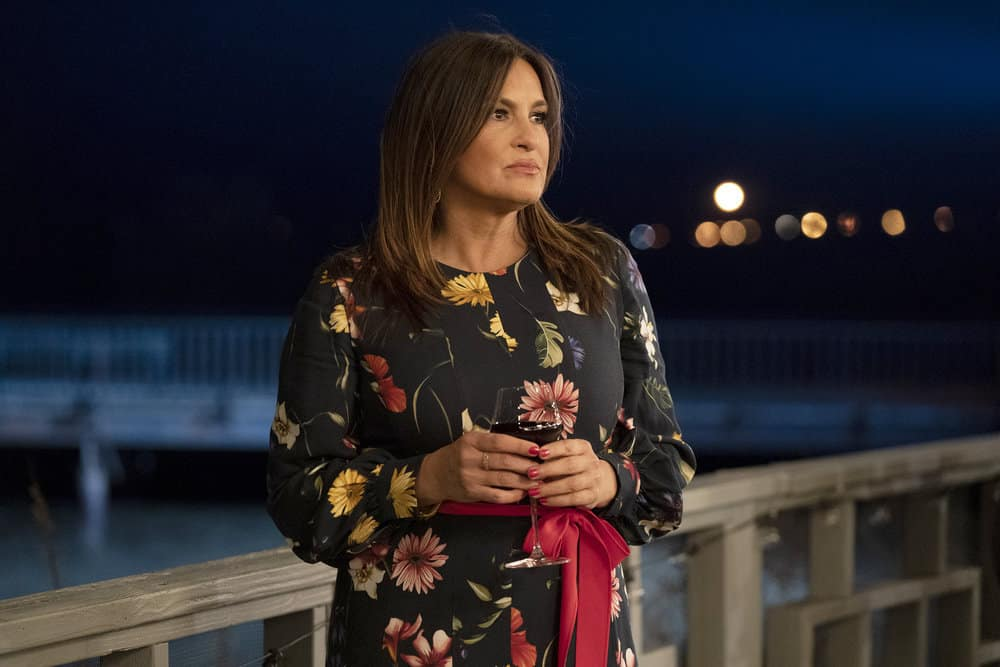 """LAW AND ORDER SVU Season 22 Episode 16 -- """"Wolves in Sheep's Clothing"""" Episode 22016 -- Pictured: Mariska Hargitay as Captain Olivia Benson -- (Photo by: Virginia Sherwood/NBC)"""