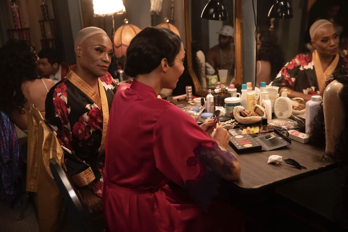 """POSE Season 3 Episode 7-- """"Series Finale"""" -- Season 3, Episode 7 (Airs June 6) Pictured: Billy Porter as Pray Tell, Mj Rodriguez as Blanca. CR: Eric Liebowitz/FX"""