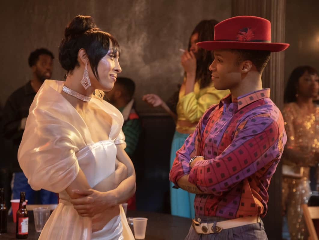 """POSE Season 3 Episode 7-- """"Series Finale"""" -- Season 3, Episode 7 (Airs June 6) Pictured: Mj Rodriguez as Blanca, Dyllón Burnside as Ricky. CR: Eric Liebowitz/FX"""