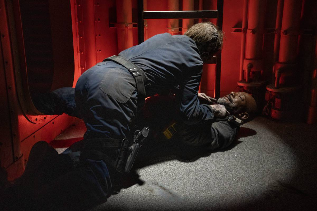 FEAR THE WALKING DEAD Season 6 Episode 15 Lennie James as Morgan Jones - Fear the Walking Dead _ Season 6, Episode 15 - Photo Credit: Ryan Green/AMC
