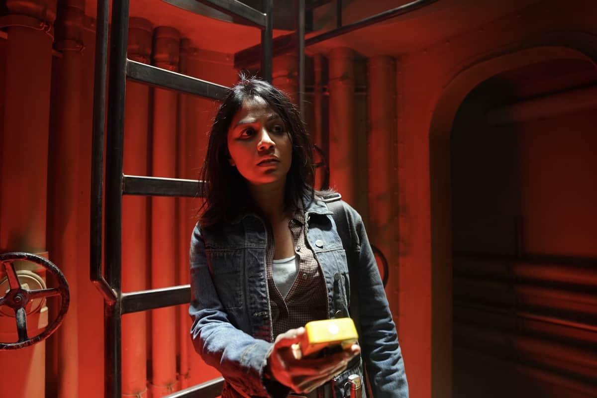 FEAR THE WALKING DEAD Season 6 Episode 15 Karen David as Grace - Fear the Walking Dead _ Season 6, Episode 15 - Photo Credit: Ryan Green/AMC