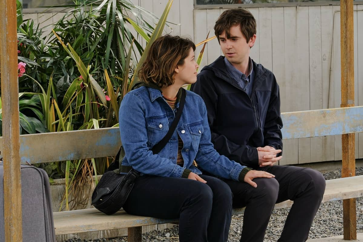 """THE GOOD DOCTOR Season 4 Episode 20 - """"Vamos"""" – Dr. Shaun Murphy must perform a risky surgery on a patient without electricity when the power suddenly goes out at the hospital in Guatemala. Additionally, Dr. Lim and Dr. Mateo Rendón Osma's relationship deepens as they overcome difficulties during their surgery in part two of the season finale of """"The Good Doctor,"""" MONDAY, JUNE 7 (10:00-11:00 p.m. EDT), on ABC. (ABC/Jeff Weddell) PAIGE SPARA, FREDDIE HIGHMORE"""
