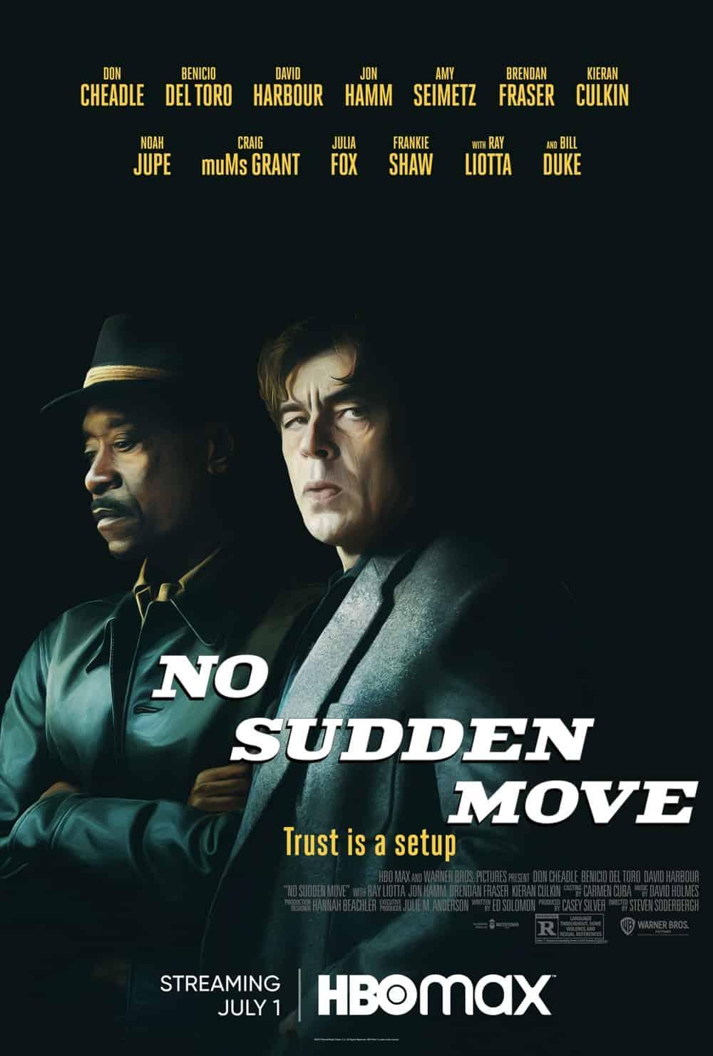 No Sudden Move Movie HBO Max