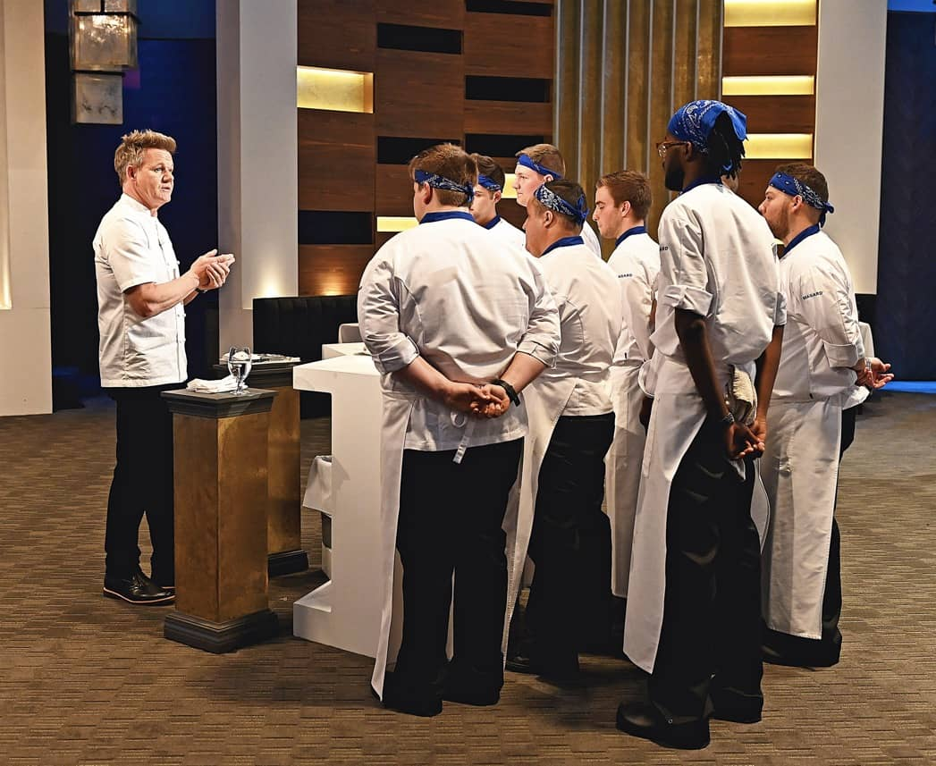 HELL'S KITCHEN Season 20 Episode 2 Photos Young Guns: Temping the Meat