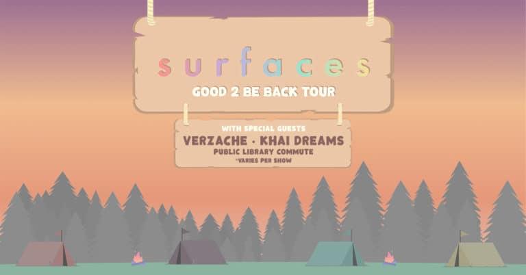 Surfaces 2021 Tour
