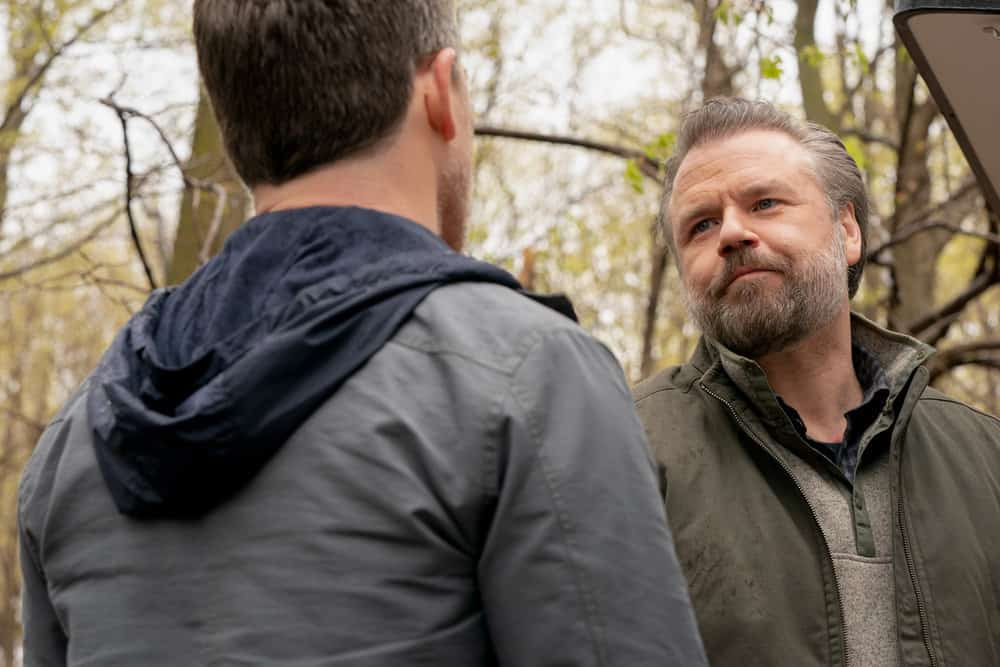 """NEW AMSTERDAM Season 3 Episode 14-- """"Death Begins in Radiology"""" Episode 314 -- Pictured: Tyler Labine as Dr. Iggy Frome -- (Photo by: Virginia Sherwood/NBC)"""