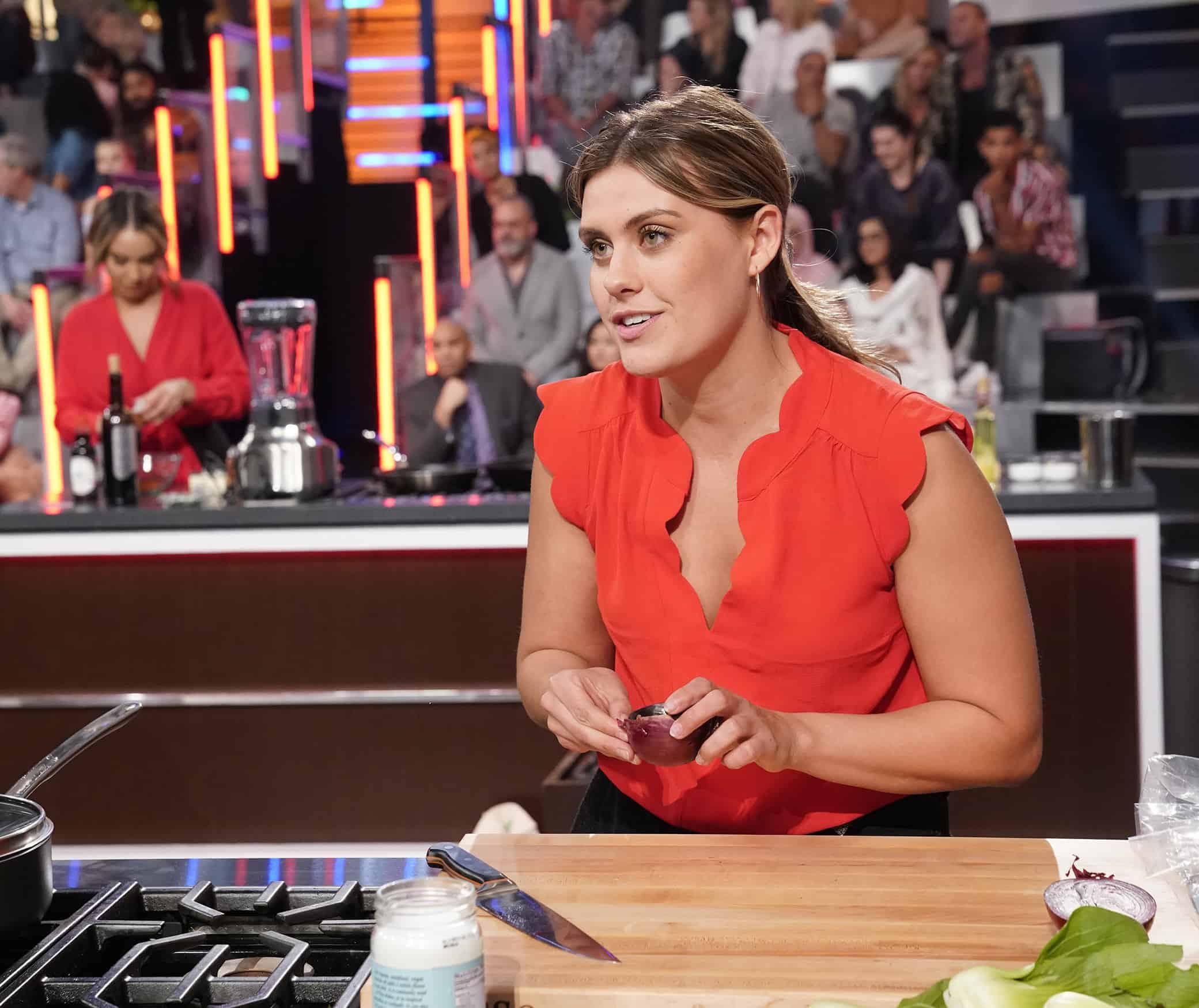 "MASTERCHEF Season 11 Episode 2 : A contestant in the ""Legends: Curtis Stone - Auditions Round 2"" episode of MASTERCHEF airing Wednesday, June 9 (8:00-9:00 PM ET/PT) on FOX. © 2019 FOX MEDIA LLC. CR: FOX."