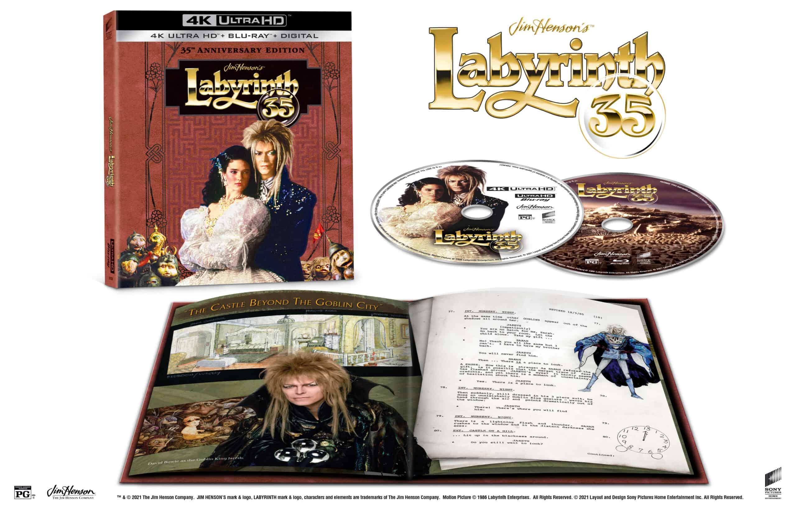 LABYRINTH 4K Cover