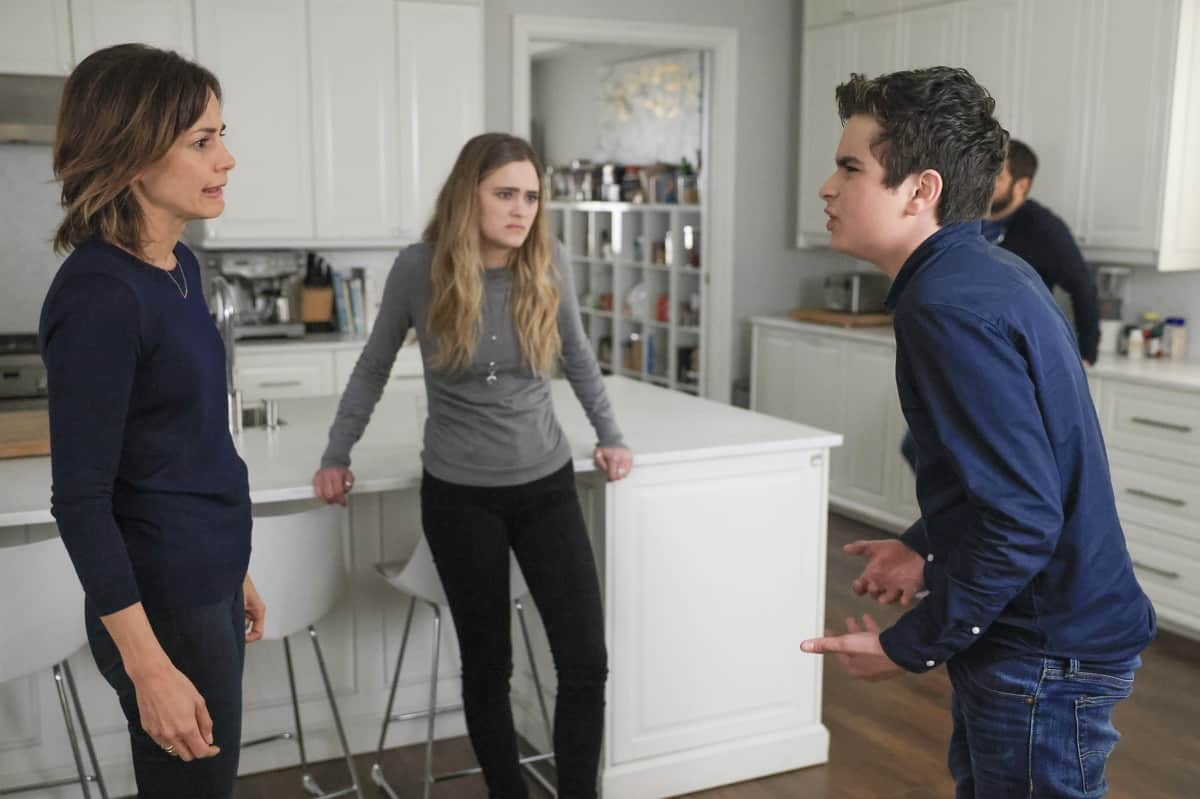 """A MILLION LITTLE THINGS Season 3 Episode 18 - """"justice: part 1""""/""""justice: part 2"""" – Sophie seeks justice for her trauma, and Maggie forces Gary to take a hard look at himself and his relationships. Meanwhile, Eddie goes to extreme measures to fight for his family, and Rome and Regina make big changes for their future on the two-hour season finale of """"A Million Little Things,"""" WEDNESDAY, JUNE 9 (9:00-11:00 p.m. EDT), on ABC. (ABC/Jack Rowand) STEPHANIE SZOSTAK, CHANCE HURSTFIELD"""