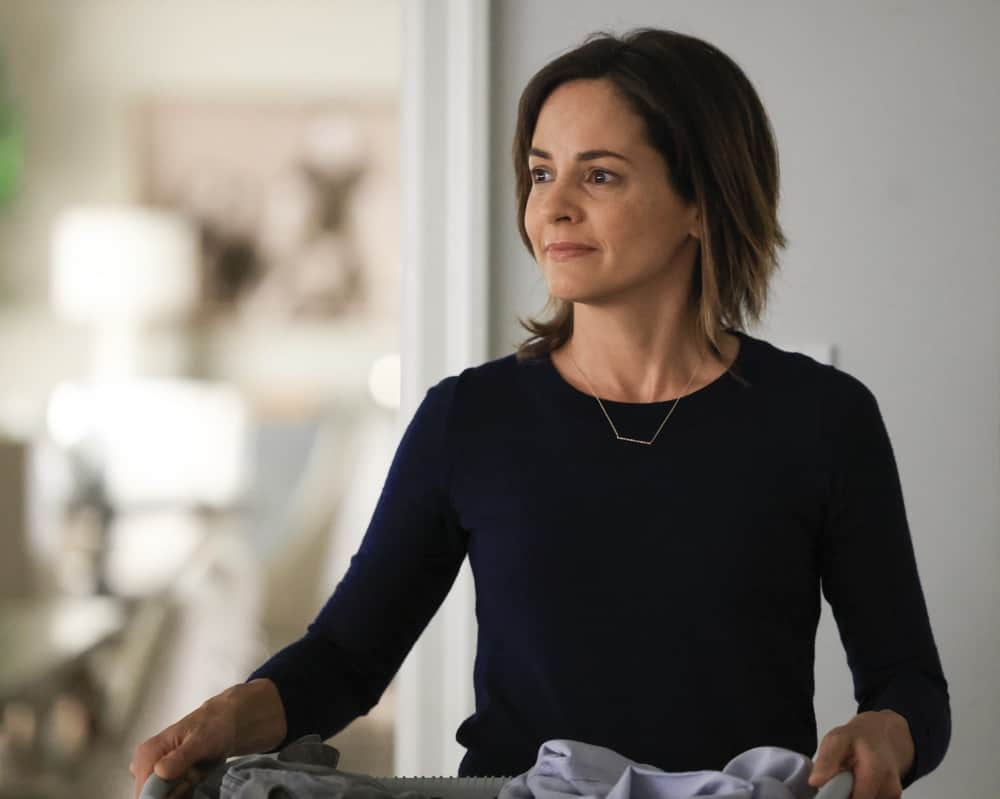 """A MILLION LITTLE THINGS Season 3 Episode 18 - """"justice: part 1""""/""""justice: part 2"""" – Sophie seeks justice for her trauma, and Maggie forces Gary to take a hard look at himself and his relationships. Meanwhile, Eddie goes to extreme measures to fight for his family, and Rome and Regina make big changes for their future on the two-hour season finale of """"A Million Little Things,"""" WEDNESDAY, JUNE 9 (9:00-11:00 p.m. EDT), on ABC. (ABC/Jack Rowand) STEPHANIE SZOSTAK"""
