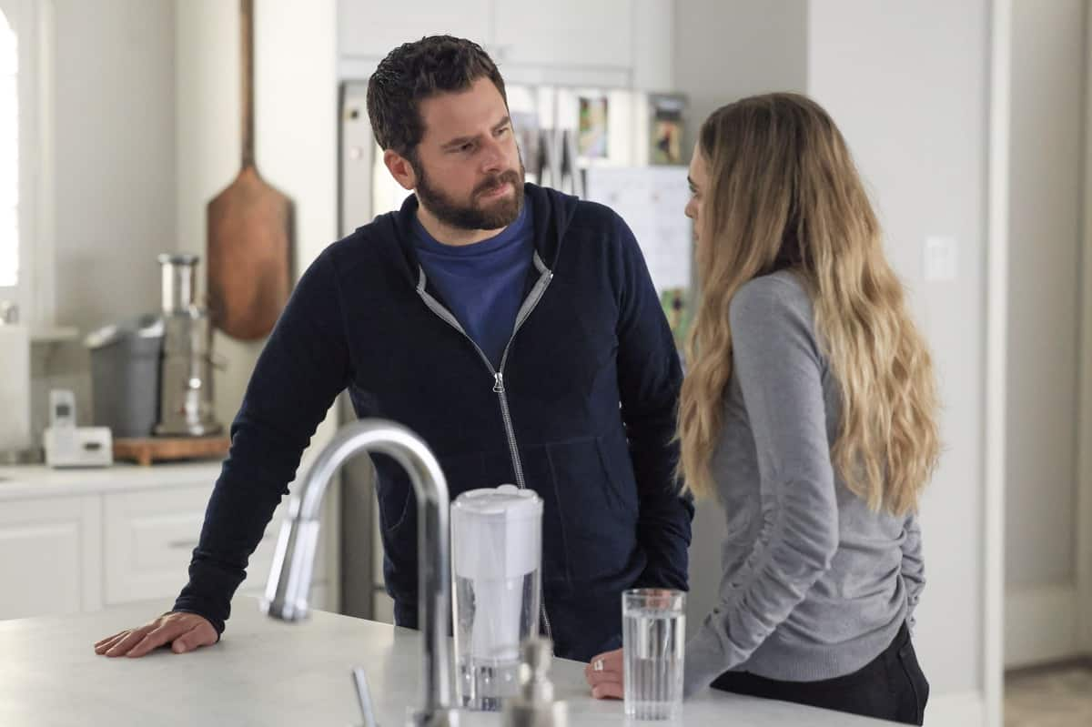 """A MILLION LITTLE THINGS Season 3 Episode 18 - """"justice: part 1""""/""""justice: part 2"""" – Sophie seeks justice for her trauma, and Maggie forces Gary to take a hard look at himself and his relationships. Meanwhile, Eddie goes to extreme measures to fight for his family, and Rome and Regina make big changes for their future on the two-hour season finale of """"A Million Little Things,"""" WEDNESDAY, JUNE 9 (9:00-11:00 p.m. EDT), on ABC. (ABC/Jack Rowand) JAMES RODAY RODRIGUEZ"""