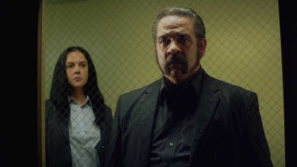 """QUEEN OF THE SOUTH Season 5 Episode 10 -- """"El Final"""" Episode 510 -- Pictured in this screengrab: Hemky Madera as Pote -- (Photo by: USA Network)"""