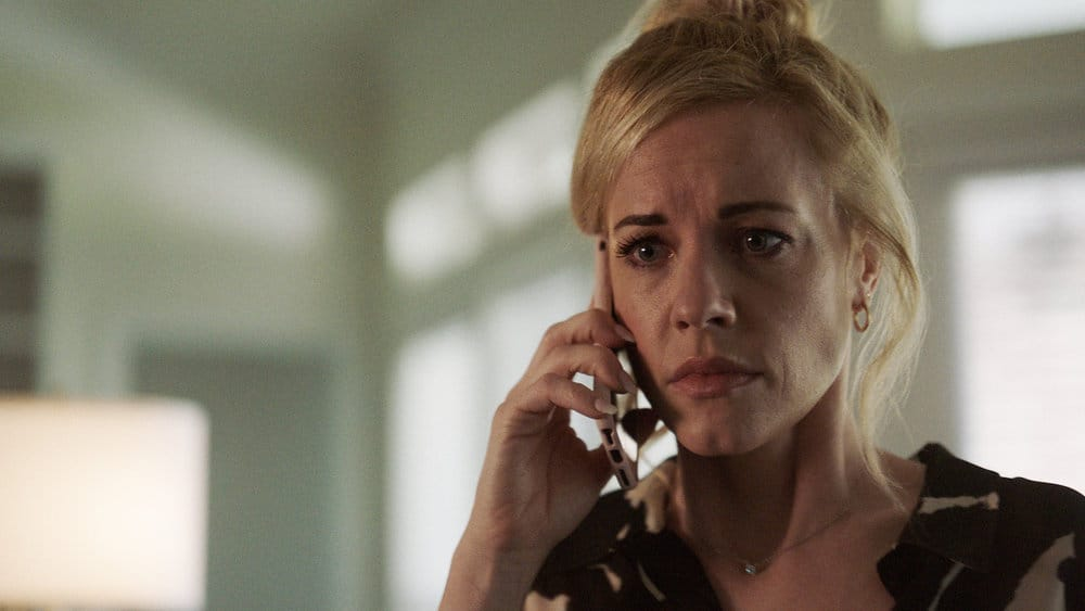 """QUEEN OF THE SOUTH Season 5 Episode 10 -- """"El Final"""" Episode 510 -- Pictured in this screengrab: Molly Burnett as Kelly Anne Van Awken -- (Photo by: USA Network)"""
