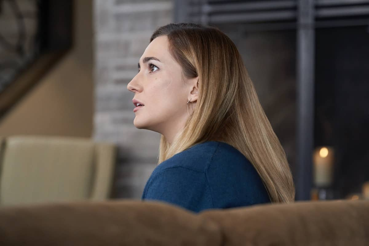 GOOD WITCH Season 7 Episode 5 The Merriwick cousins go on a journey in search of a missing piece of Joy's past.  Photo: Katherine Barrell Credit: © 2021 Crown Media United States LLC / Photographer: Peter Stranks