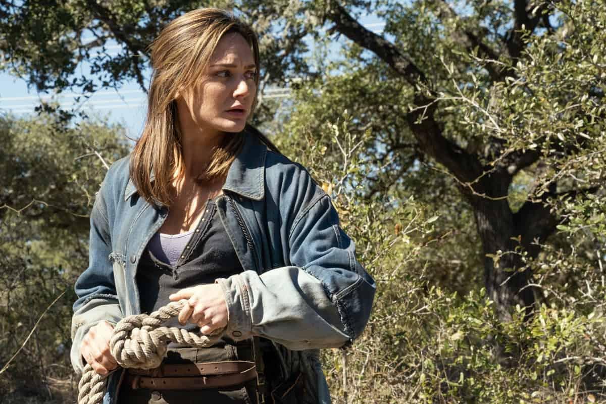 FEAR THE WALKING DEAD Season 6 Episode 16 Christine Evangelista as Sherry - Fear the Walking Dead _ Season 6, Episode 16 - Photo Credit: Ryan Green/AMC